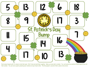 St. Patrick's Day Printables ELA and Math