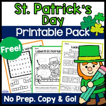 St. Patrick's Day Printables Free