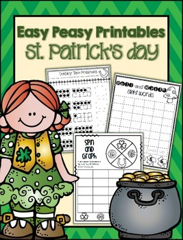 No Prep St. Patrick's Day Printables and Craftivity