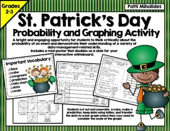 St. Patrick's Day Probability/Graphing Activity: Hands-On