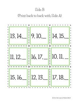 St Patrick's Day Puzzle Mats: Numbers 11-19 Bonus Puzzle