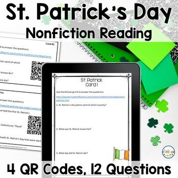 QR Code Quest: St. Patrick's Day