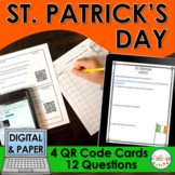 St. Patrick's Day QR Code Activity