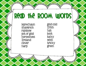 St. Patrick's Day QR Code - Read the Room