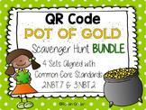 St. Patrick's Day QR Code Scavenger Hunt BUNDLE: 4 Common