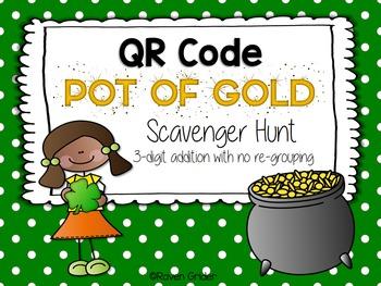 St. Patrick's Day QR Code Scavenger Hunt