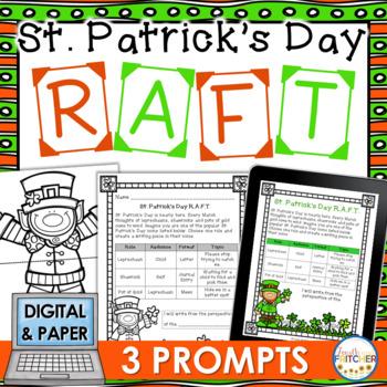 St. Patrick's Day RAFT Activity