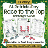 St. Patrick's Day Race to the Top- Dolch Sight Words