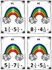 St. Patrick's Day Rainbow Mixed Number Addition Math Center (Common Core)
