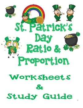 St. Patrick's Day Ratio & Proportion