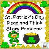 Math Centers: St. Patrick's Day | March Math Problems Activities