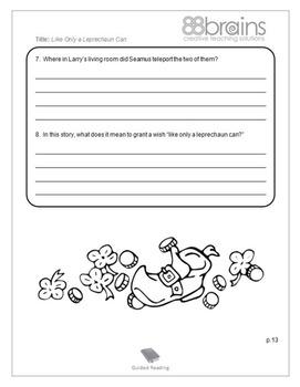 Reading Activity Packet - Original Short Story (Common Core)