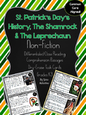 St Patrick's Day Nonfiction Reading Passages