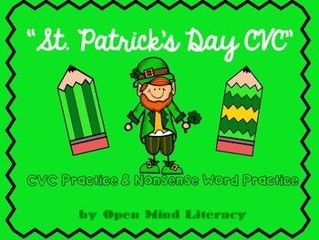 St. Patrick's Day Reading Practice (CVC & Nonsense Words)