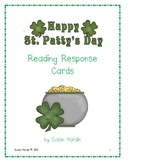 St. Patrick's Day Reading Response Cards