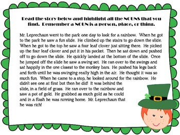 St. Patrick's Day Reading Stations Pack {1st, 2nd, 3rd grade}