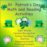 St. Patrick's Day Activities:  Reading and Math