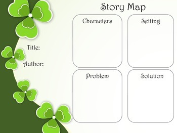St. Patrick's Day Reading/Writing Organizers for Grades 1-5