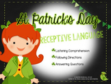 St. Patrick's Day Receptive Language Activity