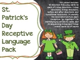 St. Patrick's Day Receptive Language Pack