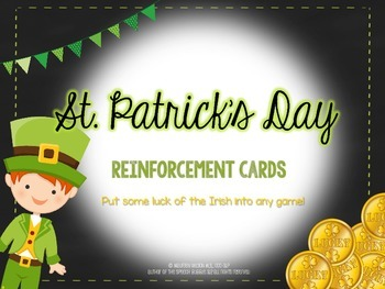 St. Patrick's Day Reinforcement Cards