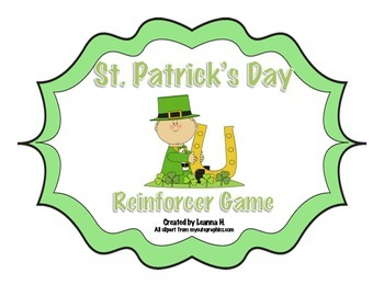 St. Patrick's Day Reinforcer Game