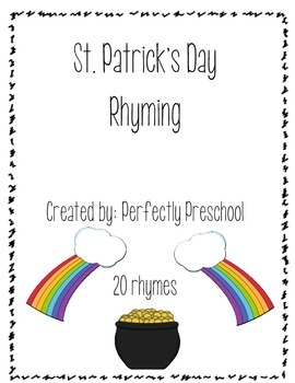 St Patrick's Day Rhyming