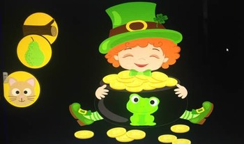 St. Patrick's Day Rhyming and Beginning Sound Smartboard