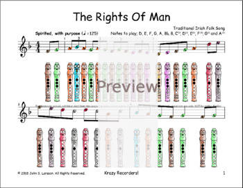 Rights Of Man - St. Patrick's Day
