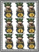 St Patrick's Day Roll and Cover Three Addend Addition Cent