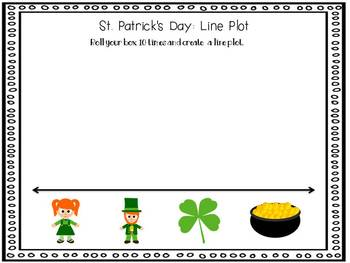 St. Patrick's Day Roll and Graph