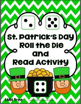 St. Patrick's Day: Roll the Die and Read Activity