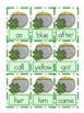 St. Patrick's Day SHAMROCK Sight Word SHAKE first 100 Dolch words Game