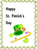 St. Patrick's Day SMARTBOX packet