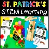 St Patricks Day STEM Leprechaun Clover Pot of Gold Bridge Rainbow