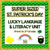 St. Patrick's Day SUPER SIZED Lucky Language, Literacy, & Speech Packet