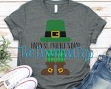 St Patricks Day SVG, Leprechaun SVG, Teacher Shirt, Instan
