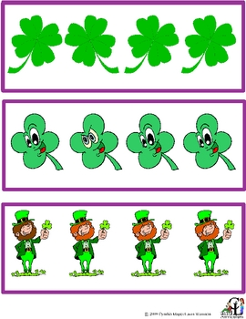 St. Patrick's Day Same and Different