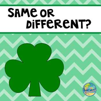 St. Patrick's Day--Same or Different???