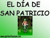 St. Patrick's Day (San Patricio) Power Point in Spanish (46 slides)