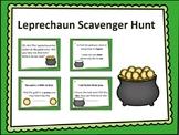 St. Patrick's Day Scavenger Hunt- School