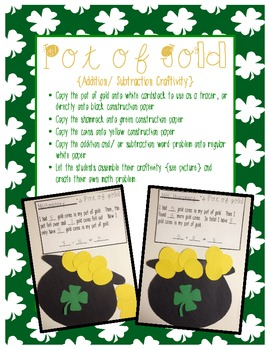St. Patrick's Day Scavenger Hunt {with curricular connections}