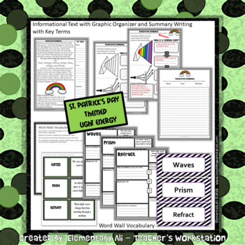 St. Patrick's Day: Science and Literacy Set (staar and Common Core)