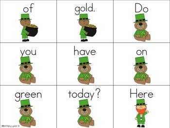 St. Patrick's Day Scrambled Sentences