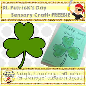 St. Patrick's Day Sensory Craft FREEBIE