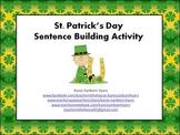 St Patrick's Day Sentence Building