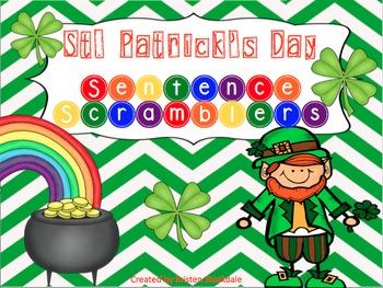 St. Patrick's Day Sentence Scrambler