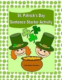 St. Patrick's Day Sentence Starter: I am lucky because...