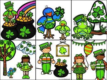 St. Patrick's Day Sentences FREEBIE