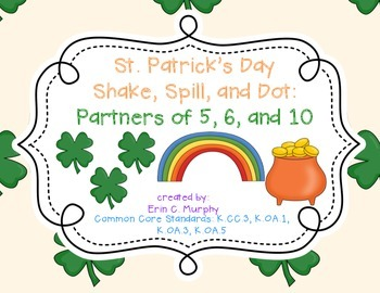St. Patrick's Day Shake and Spill for the Partners of 5, 6